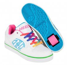 Heelys Motion Plus White/Rainbow